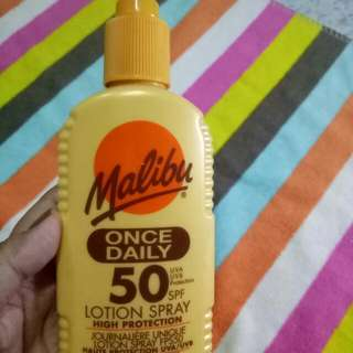 Malibu Lotion Spray SPF 50