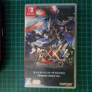 NS monster hunter xx JPN