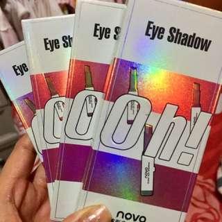 Novo double color eyeshadow super glitter