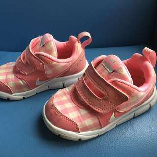 Pink Nike Baby Shoes 12cm