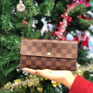 Louis Vuitton Damier Long Purse