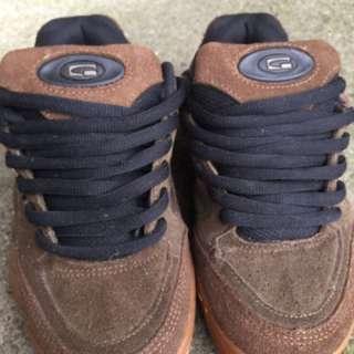 Globe 絕版麂皮滑板鞋 女鞋