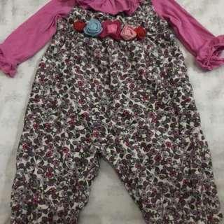 Girl's jumpsuit