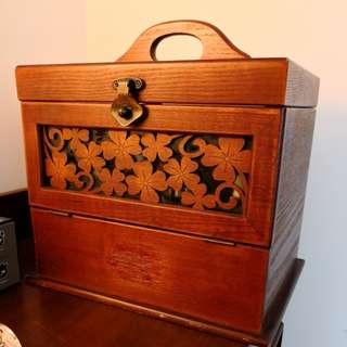 實木化妝箱