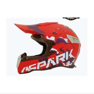 Instock Escooter & DH bike fullface helmet