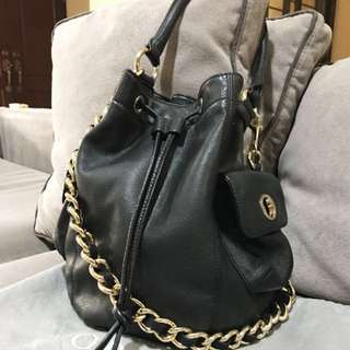 Authentic Oroton bucket leather bag