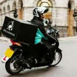 Urgent rider for hire