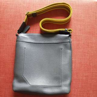 BALLY Sling Bag (Soft Leather-Authenthic)