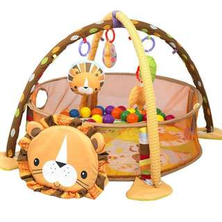 3n1 Lion baby activity gym & ball pit