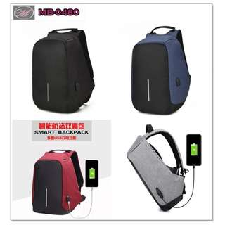 CODE: MB-0480 Anti Theft Backpack