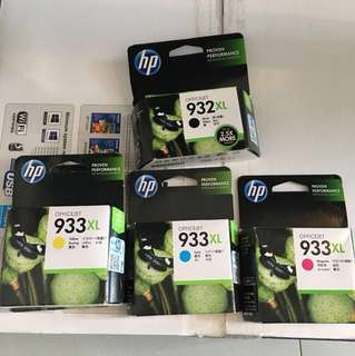 HP officejet ink 933XL/932XL
