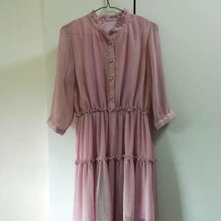 Light lilac color dress