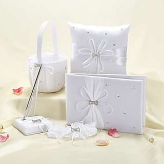 EGS18023 Garden Theme Collection Set With Rhinestones Ribbons