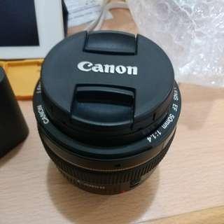 Canon 50mm USM 1.4 EF Lens