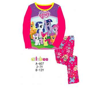 Long Sleeves My Little Pony Pyjamas