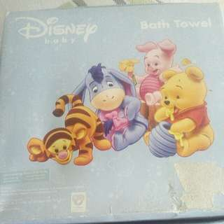 Disney Baby Bath Towel