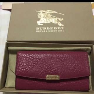 Burberry Wallet Leather