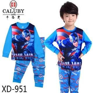 Captain America Kid's PJ