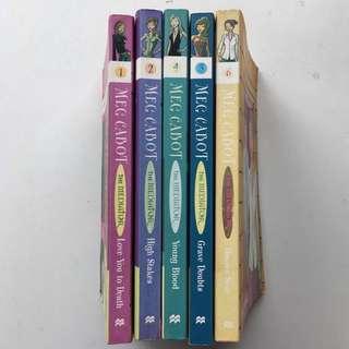 Meg Cabot Books: The Mediator