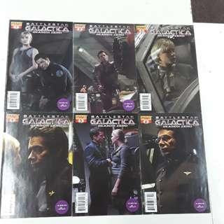 Battlestar Galactica Season Zero (2007) Comics Set