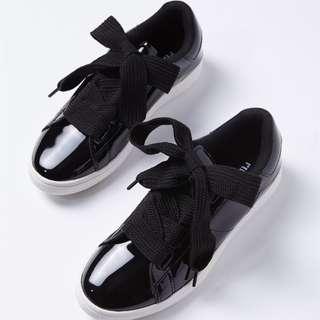 Rubi Cathryn Bow Sneakers Black