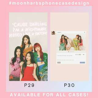 Custom Phone Case Blackpink (phonecasebymermaird)