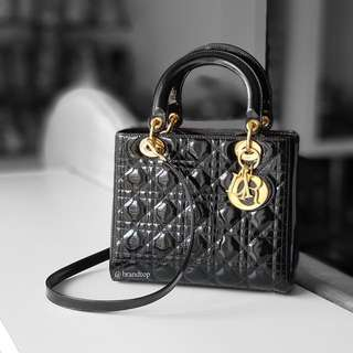 Authentic Christian Dior Black Lady dior