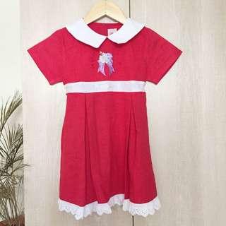 CNY Red Dress