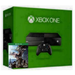 Xbox One 1TB With Monster Hunter World (mint condition)