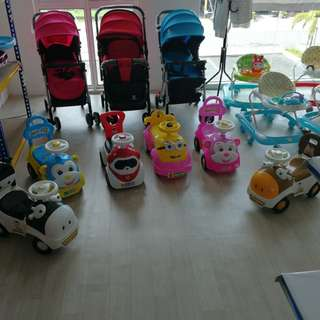 Musical Baby Cars with Lights