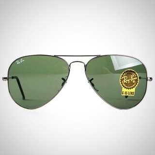 🚚 Rayban雷朋 RB3025 W0879 槍框墨綠色鏡片#含運最划算