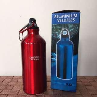 Red Aluminum Bottle