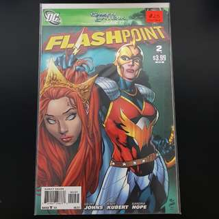 Flashpoint (8/2011) #2 1:25 Variant