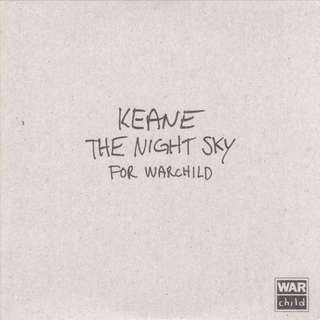Keane ‎The Night Sky cd promo single