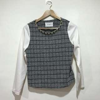 🚚 時尚格紋設計襯衫✨原價850