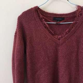 🇬🇧Primark蕾絲拼接毛衣