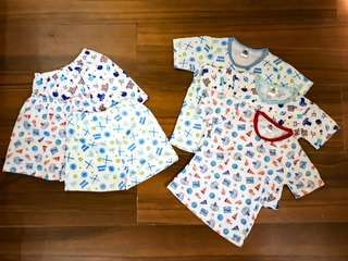 Authentic Baby Essentials: Bundle of Shirts & Shorts