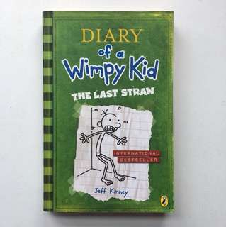 Book: The Last straw by Jeff Kinney (Diary of a Wimpy Kid #3)