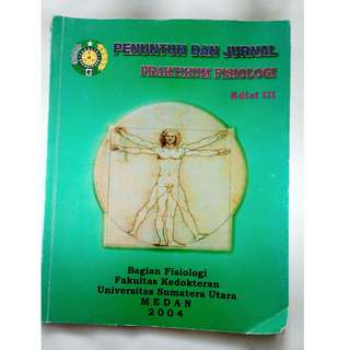 buku bekas penuntun dan jurnal praktikum fisiologi