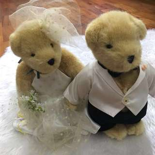 Sasha's & Company Wedding Bears