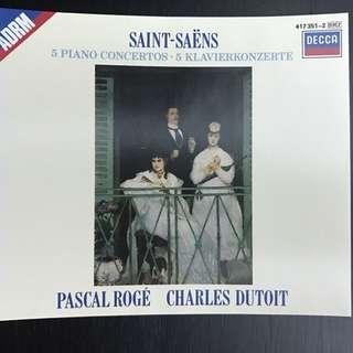 Saint-Saens 5 Piano Concertos