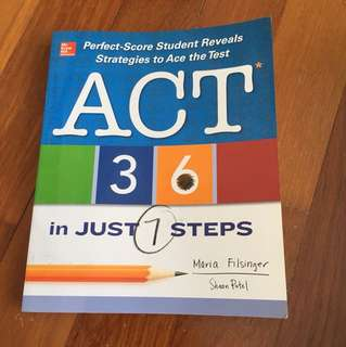 McGraw Hill ACT prep book