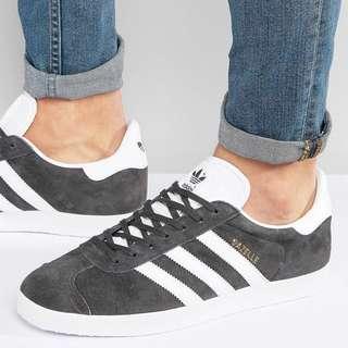 adidas Originals Gazelle Sneakers 灰色