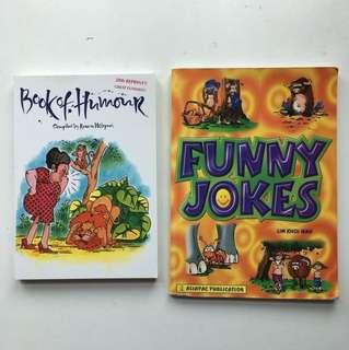 Jokes and humour books
