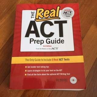 Official ACT test prep Guide