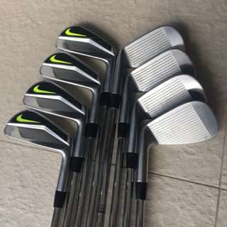 Nike Vapor irons w x100 shafts