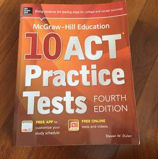 McGraw Hill ACT practice tests