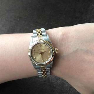 26mm ROLEX WATCH (unit only) with diamonds
