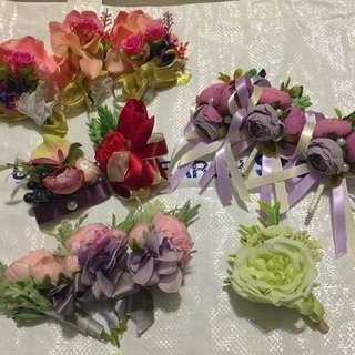 手花。襟花