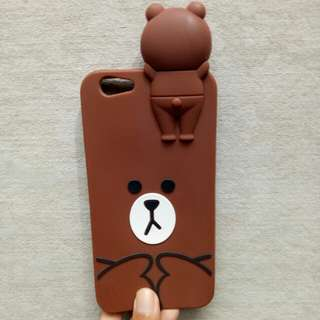 Softcase brown OPPO F1s/A59